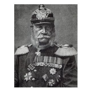 The Kaiser Wilhelm, from 'Leisure Hour', 1888 Postcard