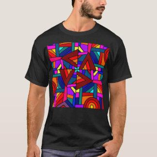 THE KALEIDOSCOPE EFFECT  (pattern design) ~ T-Shirt