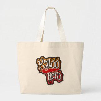 The Kazoo Hero Jumbo Tote Bag