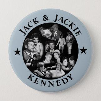 The Kennedys: Jack & Jackie 10 Cm Round Badge