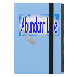 The Key to Abundant Life v2 (John 10:10) iPad Mini Case