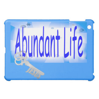 The Key to Abundant Life v2 (John 10:10) iPad Mini Cover