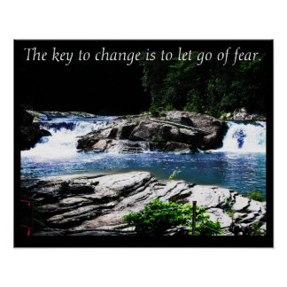 The Key to Change ~ Nature Photo Poster