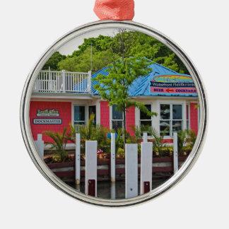 The Keys Metal Ornament