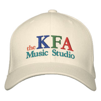 The KFA Music Studio Cap Embroidered Hat