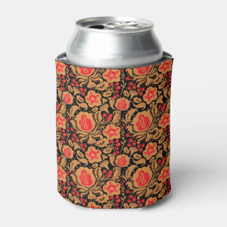 The Khokhloma Kulture Pattern Can Cooler