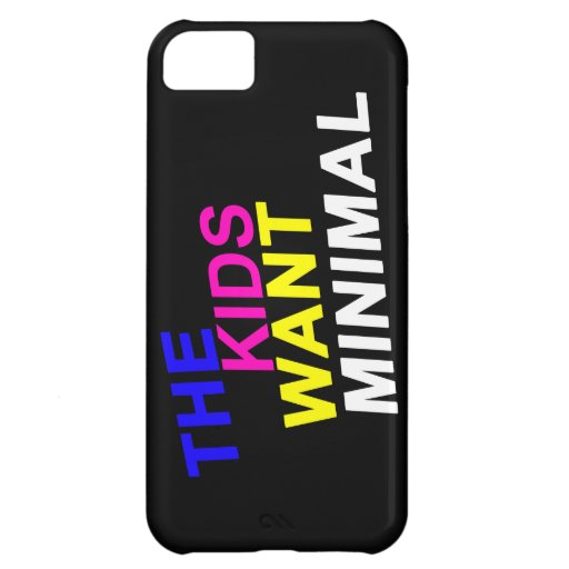 The Kids Want Minimal iPhone Case iPhone 5C Covers