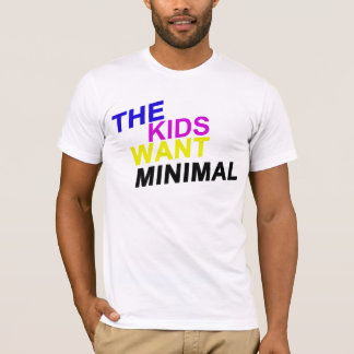 The Kids Want Minimal White Tee