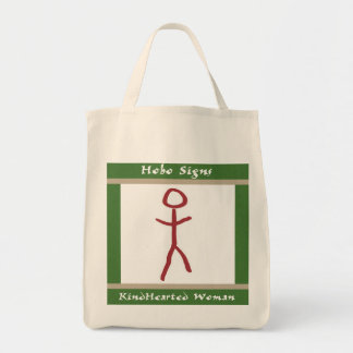 The Kindhearted Woman Grocery Tote Bag
