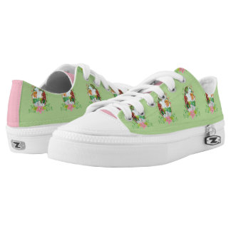 The King and Queen Zipz Low Top Shoes