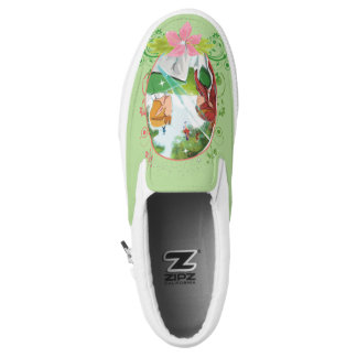 The King and Queen Zipz Slip On Shoes