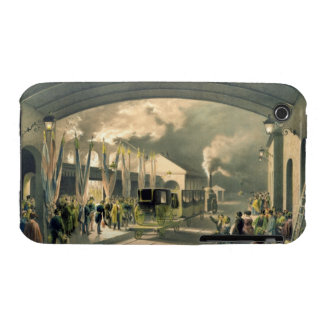 The King at New Cross Station (litho) iPhone 3 Cases