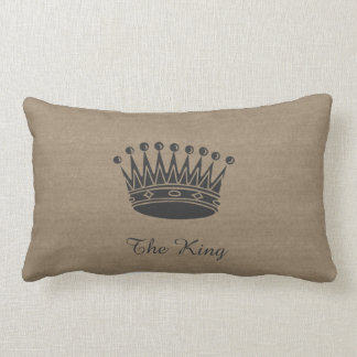 The King Canvas-Look Pillow