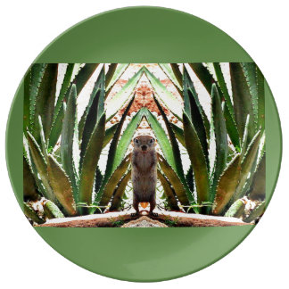 """The King"" Custom Porcelain Plate"