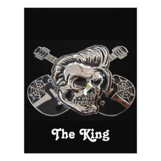 "The King! - Designer Flyer 8.5"" X 11"" Flyer"