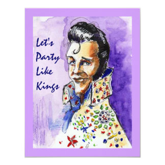 THE KING INVITES FUN PARTY LIKE KINGS ~ INVITATION