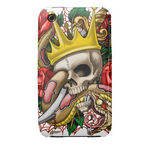 The King iphone 3 Case