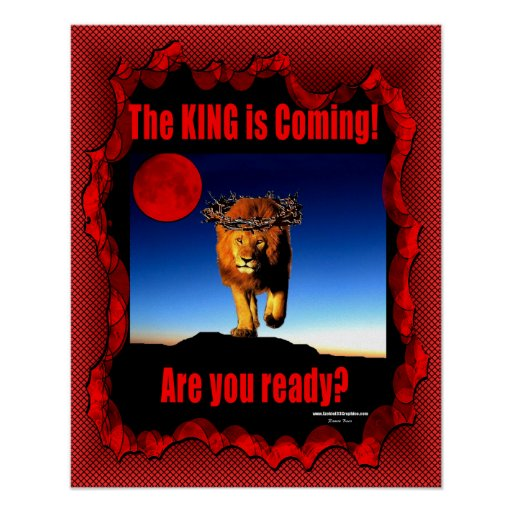 The King is Coming Poster