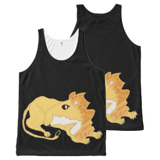 The King Of Beasts All-Over Print Tank Top