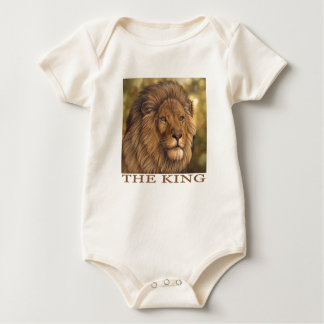 The King Of Beasts! Baby Bodysuit