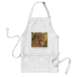 The King of Beasts! Standard Apron