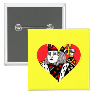 The King of Hearts Button