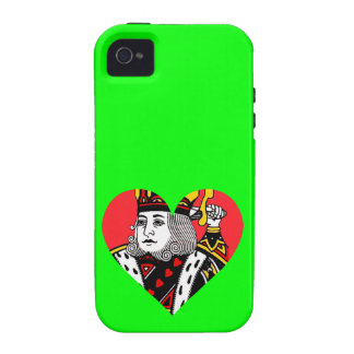 The King of Hearts iPhone 4/4S Cover