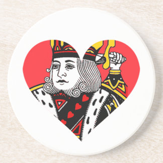 The King of Hearts Coaster