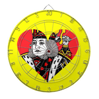 The King of Hearts Dart Board