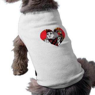 The King of Hearts Dog Tshirt