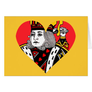 The King of Hearts Greeting Cards
