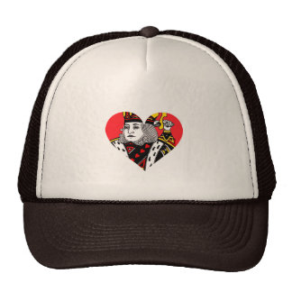 The King of Hearts Mesh Hat