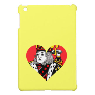 The King of Hearts iPad Mini Cases