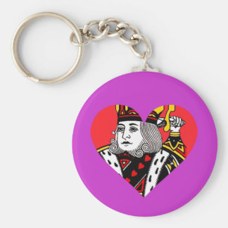 The King of Hearts Keychains