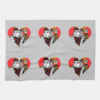 The King of Hearts Kitchen Towels