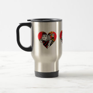 The King of Hearts Coffee Mugs