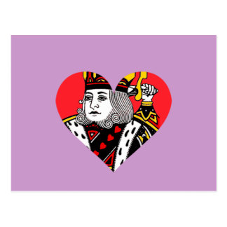 The King of Hearts Postcard