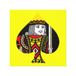 The King of Spades Gallery Wrap Canvas