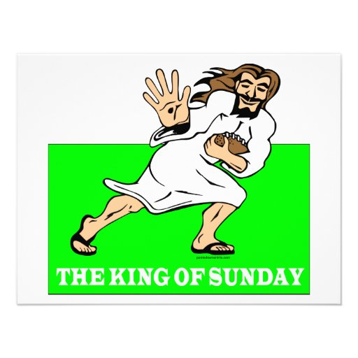 THE KING OF SUNDAY INVITES