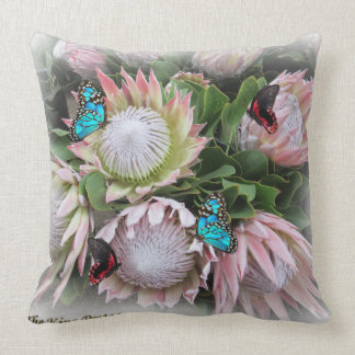 The King Protea Cushion