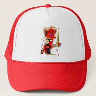 The King Trucker Hat