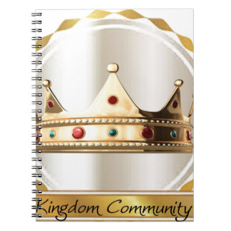 The Kingdom Community Crown 2 Notebook