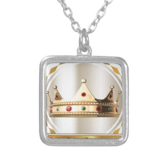 The Kingdom Community Crown 2 Silver Plated Necklace
