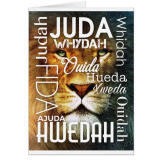 The kingdom of Judah Card