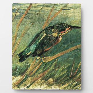 The Kingfisher by Vincent van Gogh Photo Plaque