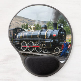 The Kingston Flyer, steam engine locomotive, South Gel Mouse Pad
