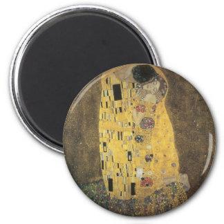 The_Kiss,_1907-08,_Gustav_Klimt Magnet