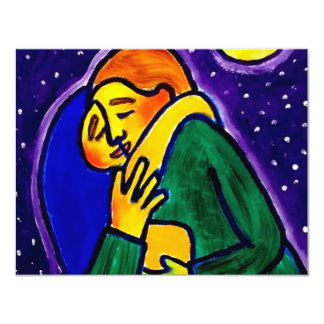 The Kiss 1 by Piliero 11 Cm X 14 Cm Invitation Card