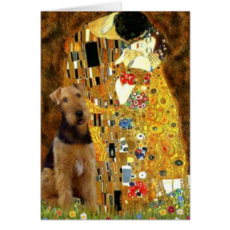The Kiss - Airedale Terrier (#1) Card