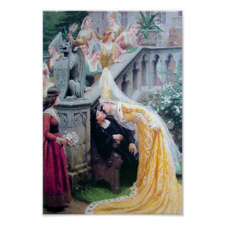 The KISS antique painting Poster